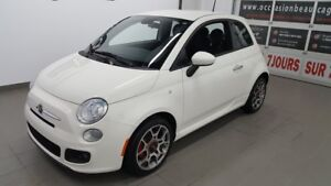 2014 Fiat 500 Sport, très bel état, bluetooth NO DAMAGE REPORT,