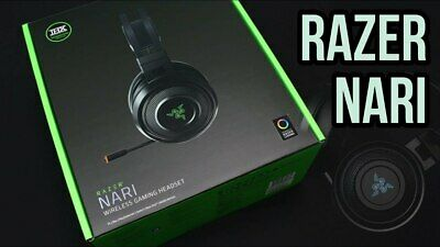 RAZER NARI WIRELESS HEADSET NEW IN SEALED BOX