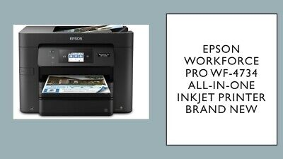 Epson WorkForce Pro WF-4734 All-in-One Inkjet Printer Brand New