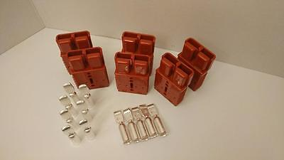 6 Charger Plugscontacts 0awg Anderson Sb175a-600v Forklifts Boats 4x4