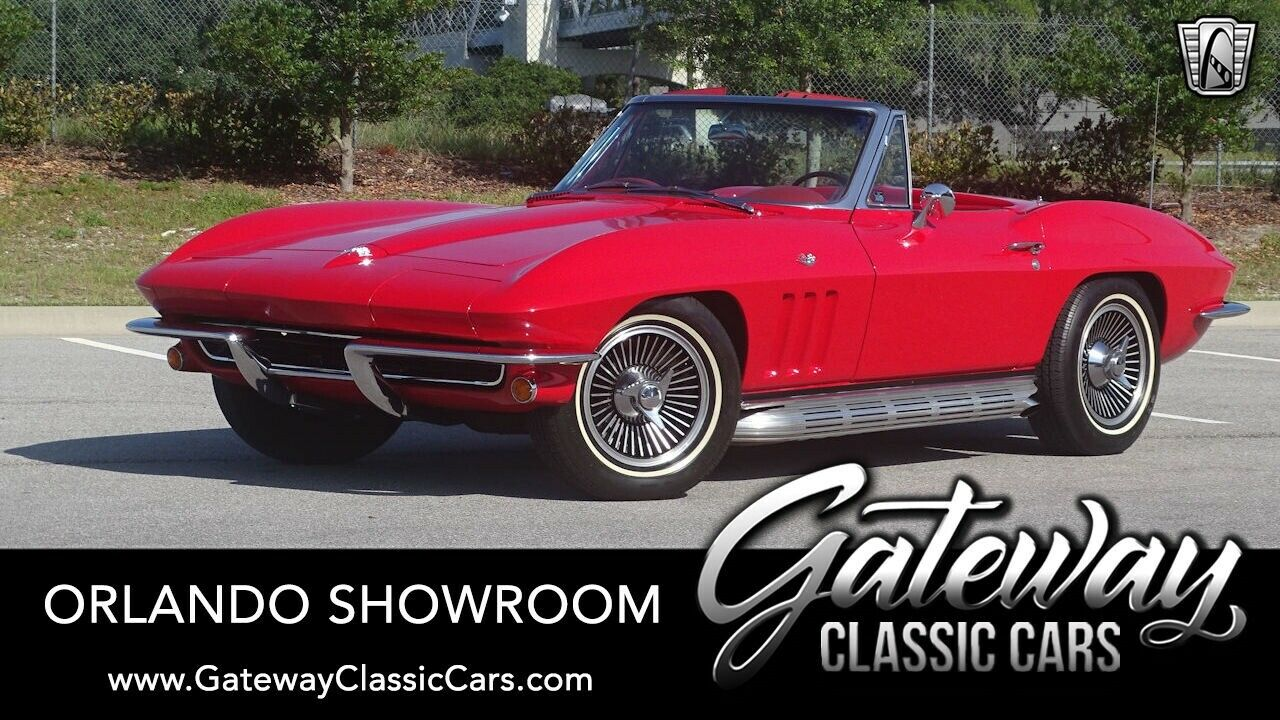 1965 Red Chevrolet Corvette Stingray  | C2 Corvette Photo 1