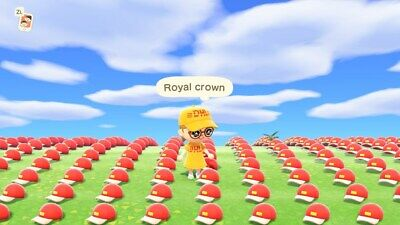 👑 Animal Crossing New Horizons 40 Royal Crowns 👑 = 12 Million Bells