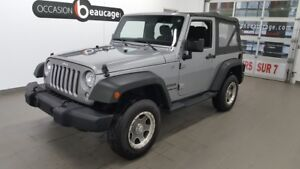 2014 Jeep Wrangler Sport, toit souple ONE OWNER
