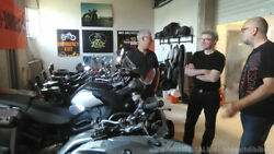 Mikes Harley-Schuppen
