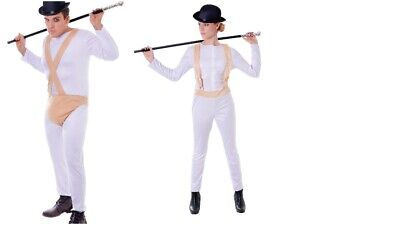 MENS WOMENS CLOCKWORK ORANGE COSTUME THEMED FILM PARTY FANCY DRESS