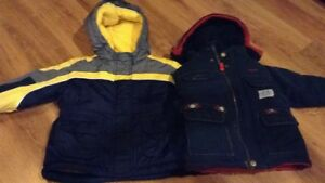 2 Boys Winter Jackets (size 12M-24M)