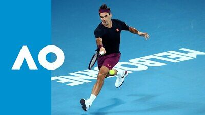NEW Official Uniqlo Roger Federer Matchwear Tennis Gift Box AU Open 2020 Size L!