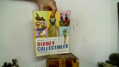 OFFICIAL DISNEY PRICE GUIDE COLLECTIBLES 2nd ed. 2007 TED HAKE