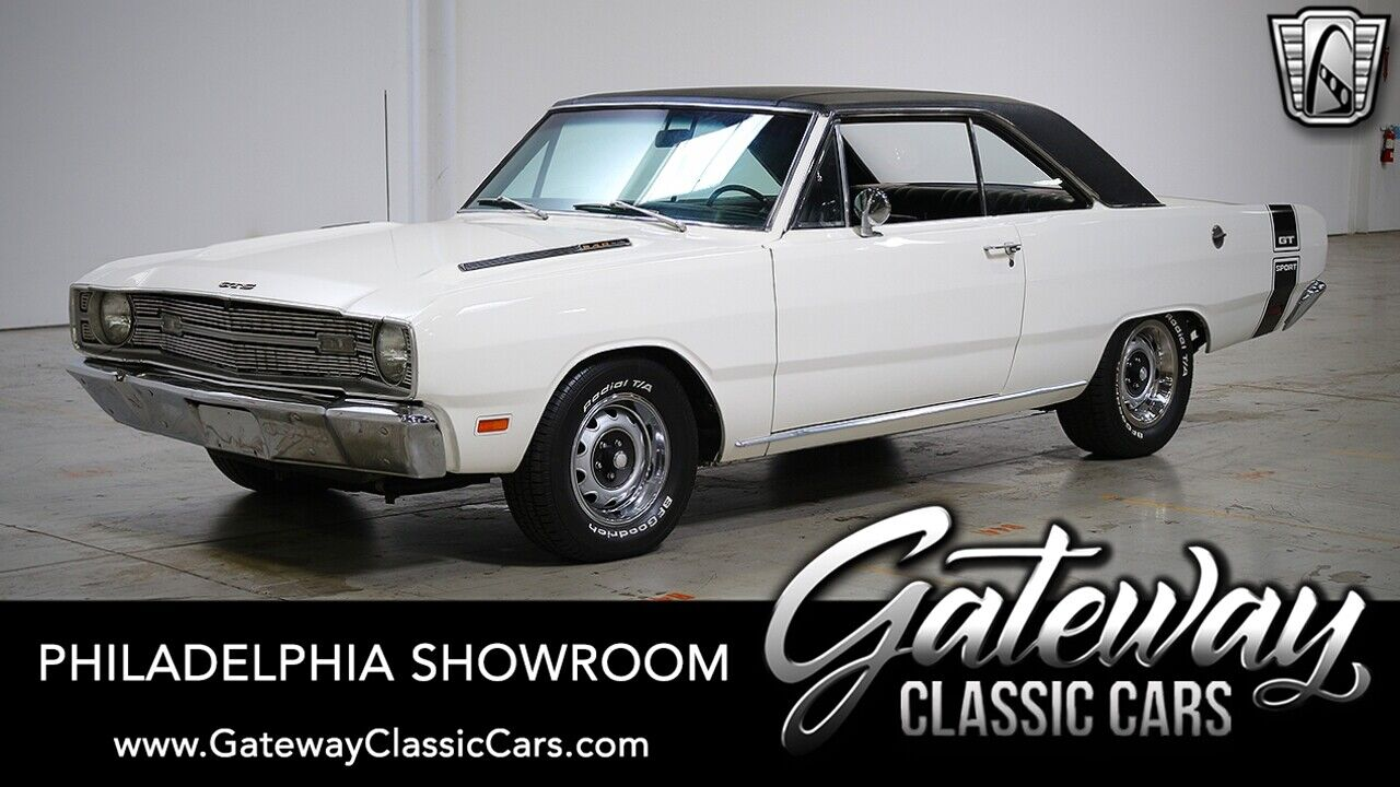 1969 Dodge Dart GTS White 1969 Dodge Dart gt sport 340 V-8 Torque Flight Available Now!