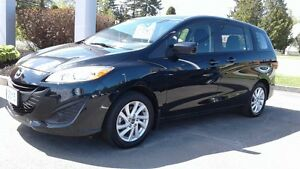 2015 Mazda Mazda5 GS Demo! only 10939Km. 6 passengers .