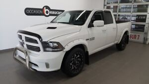 2017 Ram 1500 Sport quad, navigation, rap.pont 3.92, son ALPINE