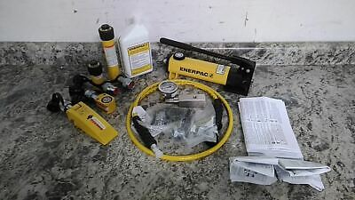 Enerpac Mlp5 11 Pc 5 Ton Cap 10000 Max Psi Hydraulic Lifting Set