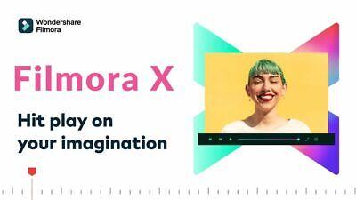 Wondershare Filmora 10 Video Editor Lifetime DVD Authentic Item