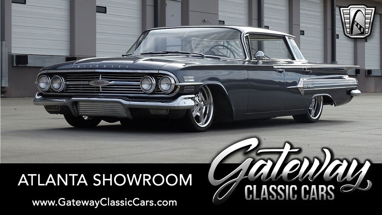 1960 Chevrolet Impala Sport Sedan Custom Ebay