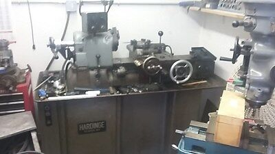 Hardinge Turret Lathe 5C Collet Chucker With Tooling