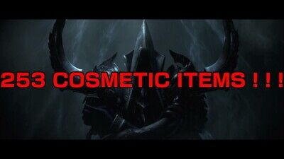 DIABLO 3 SWITCH ULTIMATE BUNDLE OF COSMETICS ! ! ! ALL ITEMS...