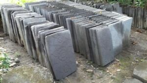 Large carved Lava Steping stone 60x40x5cm price for 1 large paver  Berry Shoalhaven Area Preview