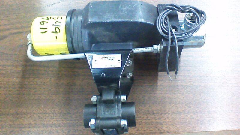 FLOWSERVE ACTUATOR  BALL VALVE 4446RTSE A105 VALVE.               W326