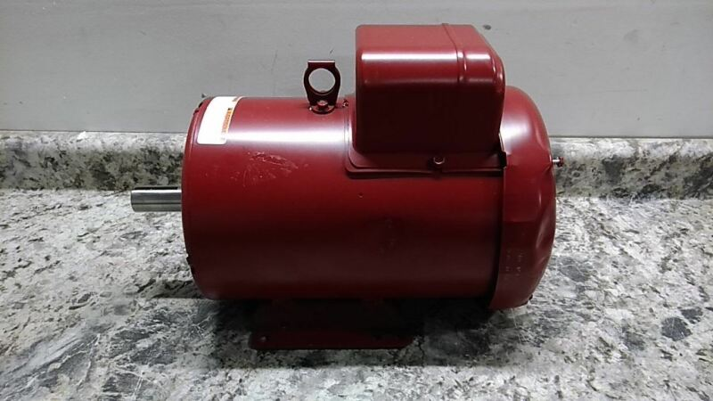 Leeson 131542.00 3 HP 1740 RPM 230VAC Capacitor-Start Farm Duty Motor (C)