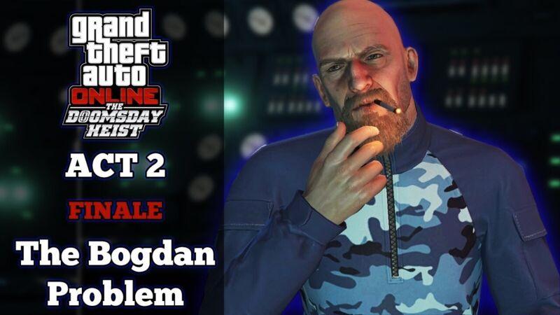 BOGDAN PROBLEM HEIST $1 MILLION *please read description* PS4/PS5