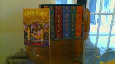 Harry Potter Complete Book Set (Year 1-7) used By J.K Rowling Paperback :)