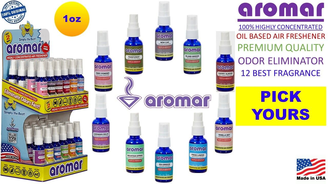 AROMAR 1 oz 😍 100% HIGHLY CONCENTRATED OIL AIR FRESHENER