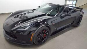 2017 Chevrolet Corvette Z06 3LZ convertible, wrap protect, black