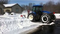 Snow removal driver wanted