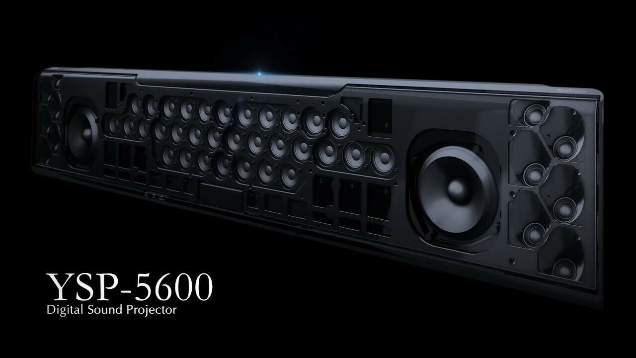Yamaha YSP-5600 MusicCast Sound Bar with Dolby Atmos® and D