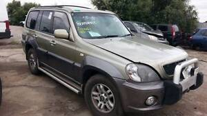 2004 Hyundai Terracan, AUTO, GOLD, 3.5, PETROL, NOW IS WRECKING Kudla Gawler Area Preview