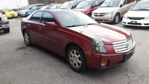 2007 Cadillac CTS LOADED! LEATHER, POWER ROOF - CERT/EMIS