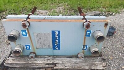 Alfa Laval 18.2 Sq. Ft. Plate Frame Heat Exchanger
