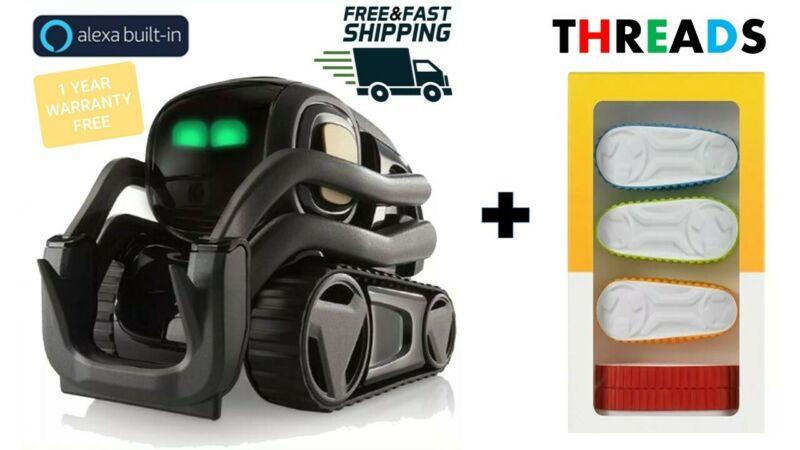 Vector Robot  + Alexa  + ( 4* colored Tire Threads FREE!! )