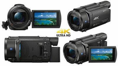 Sony Handycam Sony FDR-AX53 4K Ultra HD Camcorder (Black) Camera Brand New