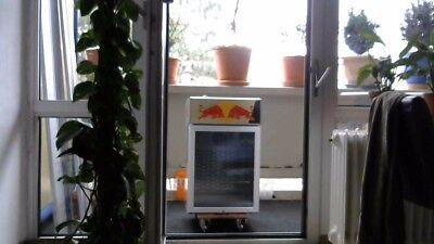 80H x 50B x 50T Redbull Getränke Kühlschrank mit Glastür gebraucht