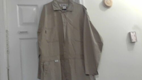 Armorex By Unifirst Pre-Owned Flame -Resistant Safety Coveralls ( 48-RG ) Beige