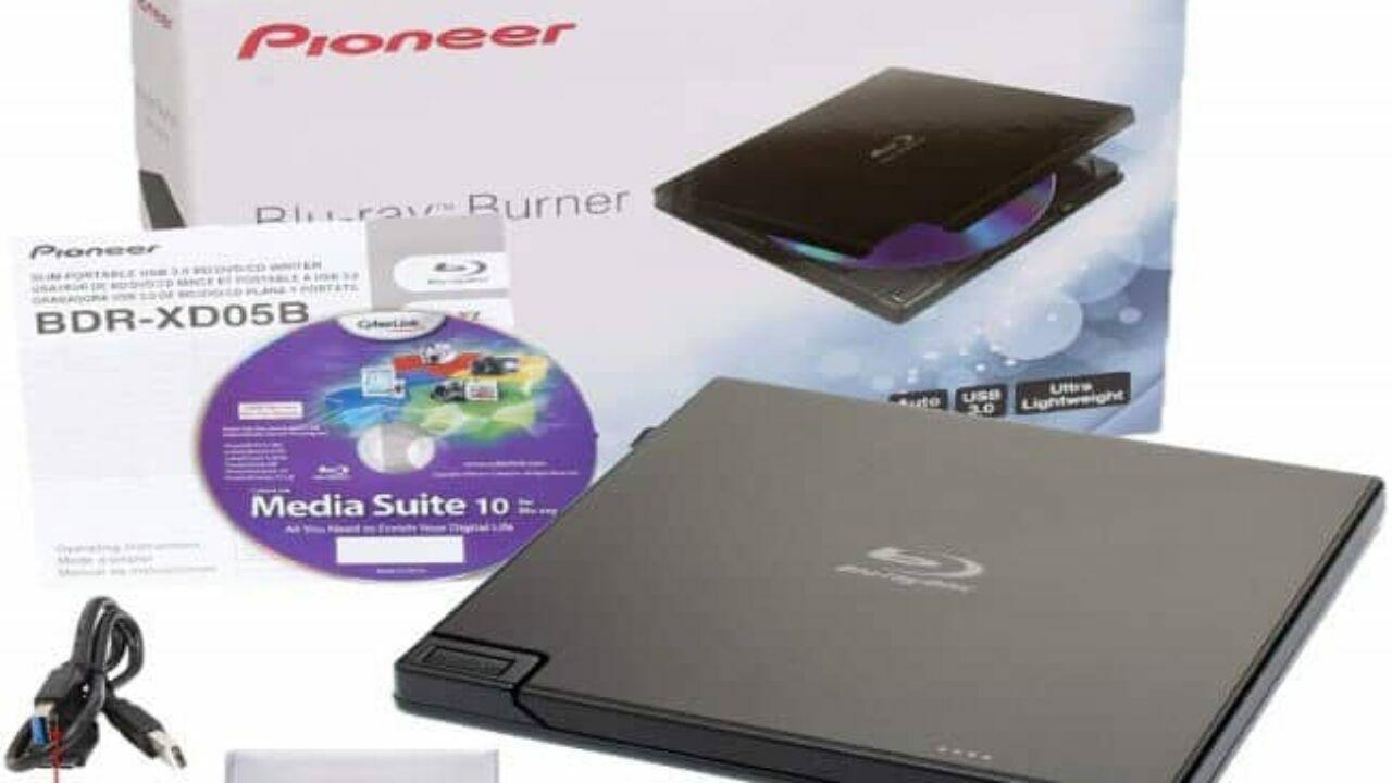 Pioneer BDR-XD05B 6x Slim Portable USB 3.0 Blu-Ray Burner  -