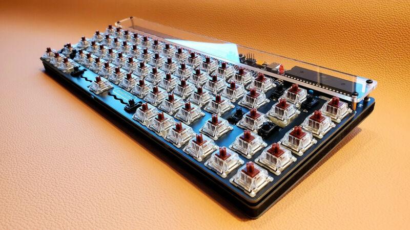 CFTKB Discipline 65% Rev. 1 LoPro Mechanical Keyboard Outemu Brown