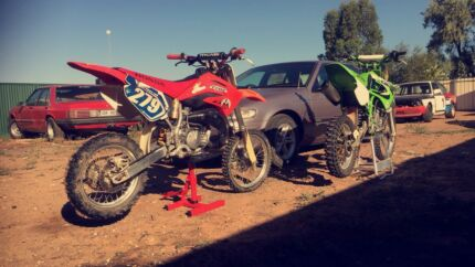 Kx80, CR 85 & Bike Trailer