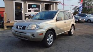 2005 Nissan X-Trail 4x4|LEATHER PWR SEATS|PANO-ROOF CERTIFIED