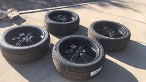 """24"""" Foose Rims & Brand New Tires"""