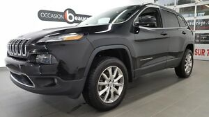 2014 Jeep Cherokee LIMITED V6, activedrive, groupe remorquage