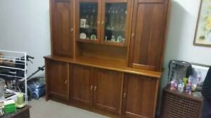 Wall Unit with Hutch and Base Caroline Springs Melton Area Preview