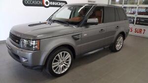 2011 Land Rover Range Rover Sport SPORT HSE LUXURY, cuir brun, n