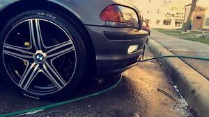 BMW E46 M package  5 spd manual