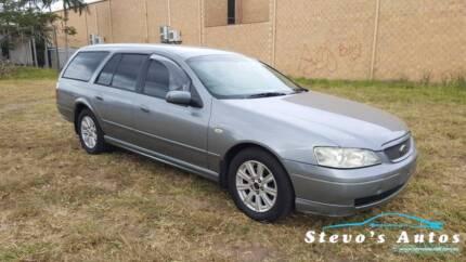 2003 Ford FUTURA Wagon RWC REGO DRIVE AWAY