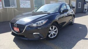 2014 Mazda MAZDA3 GX-SKY--OFF LEASE MAZDA CREDIT-LOADED-HATCHBAC