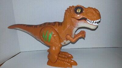 ZURU Robo Alive T-Rex Walking Robotic Dinosaur with Sounds & Glowing Scars~0216
