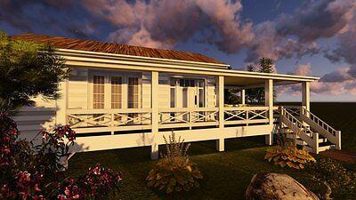 16 X 26 Tiny House Carolina Coastal Floor Plan 416 Square Feet Pdf Plans Diy