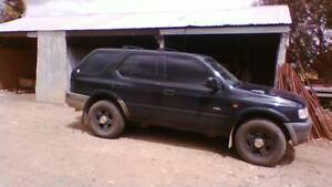 99 Holden Frontera MX 4x4 V6 3.2L Manual Nhill Hindmarsh Area Preview